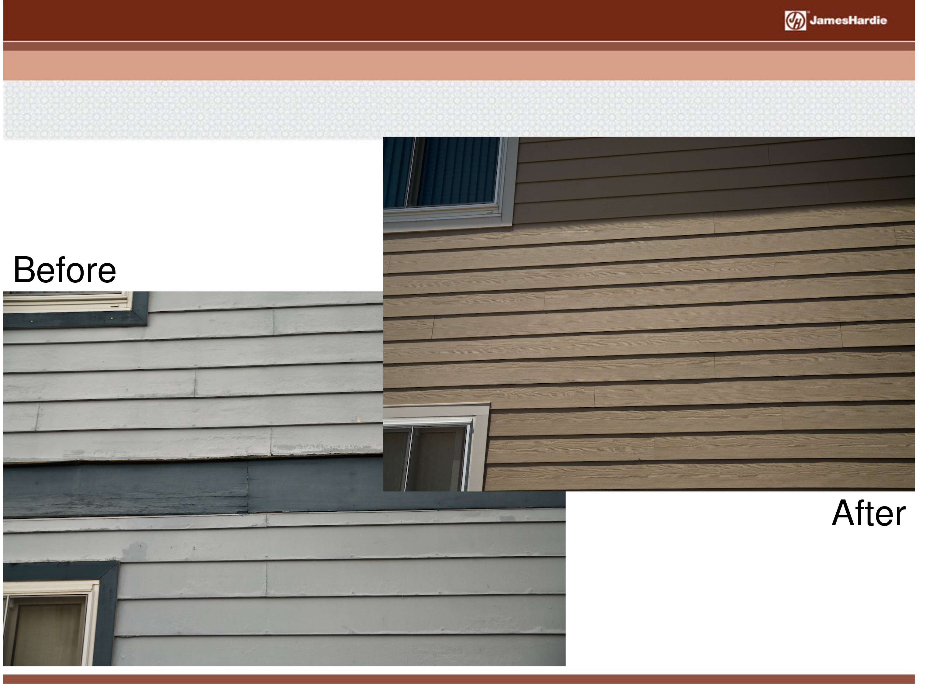 Before and After James Hardie Siding 8