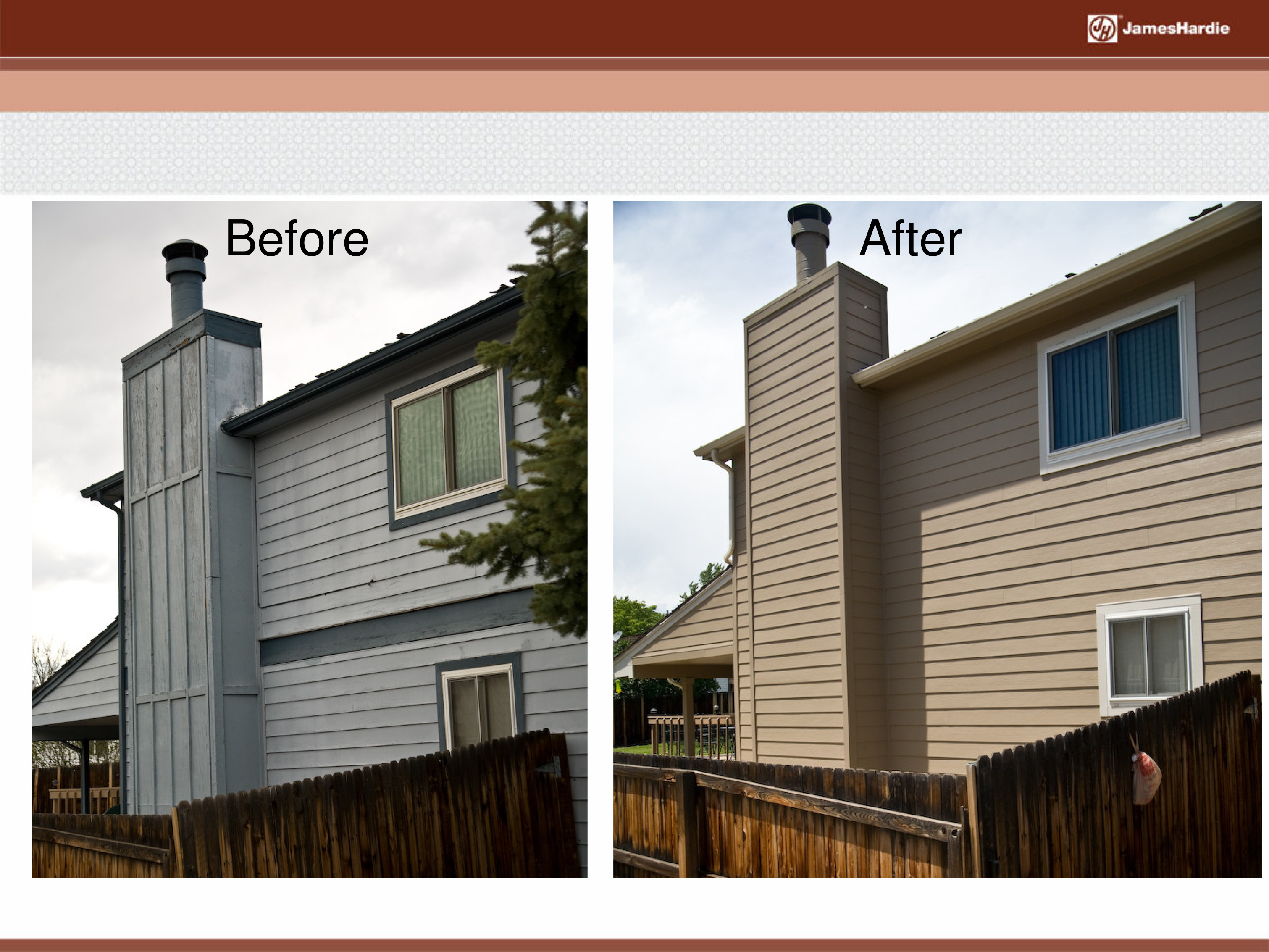 Before and After James Hardie Siding 9