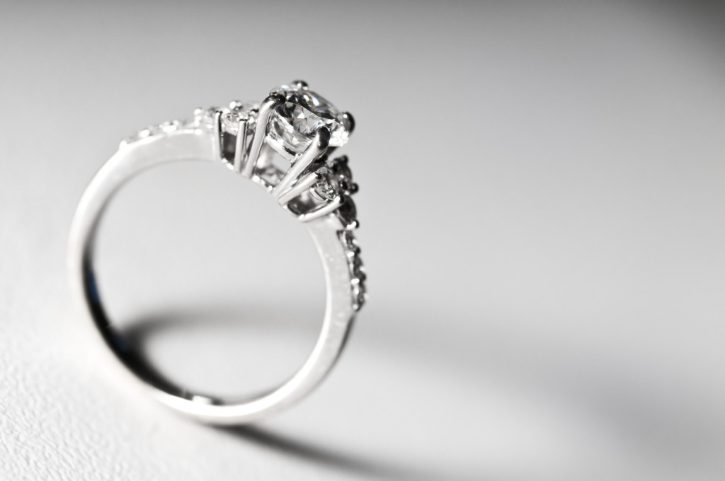 How to find an engagement ring that fell down the drain