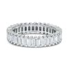 14k Diamond baguette Eternity Band Maddaloni Jewelers