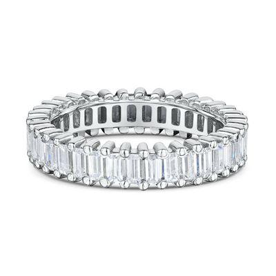 14k Diamond baguette Eternity Band Maddaloni Jewelers