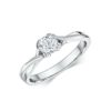 14k Solitaire Engagement Ring 0.50ct