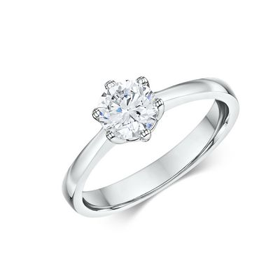 This 14k Solitaire Engagement Ring