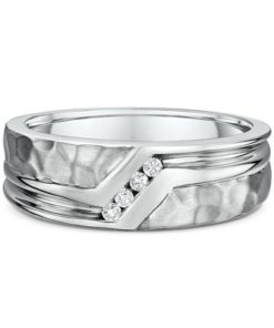 14k mens Diamond Ring Maddaloni Jewelers
