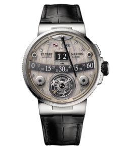 Ulysse Nardin Marine Grand Deck in Platinum 6309-300/GD