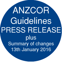ANZCOR Guidelines plus Summary of changes
