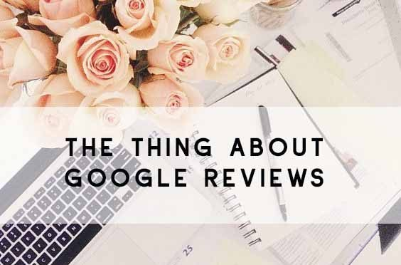 SEO google reviews