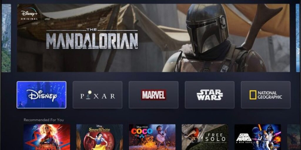 Disney Plus Mandalorian