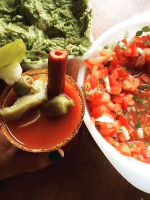 guacamole salsa bloody mary
