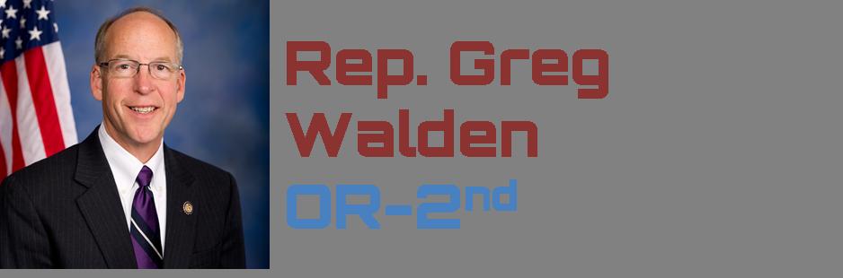 Greg Walden - Keynote Speaker
