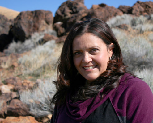 Staci Emm, outreach lead on the Native Waters project.