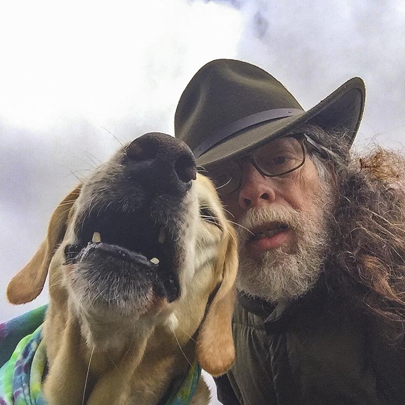 Me and Matt, woof!