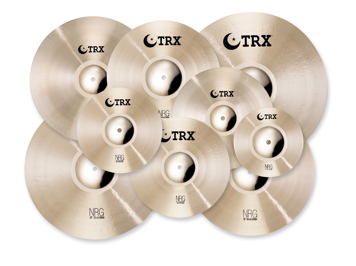 "TRX Expands Cymbal Spectrum With New ""NRG"" Series"
