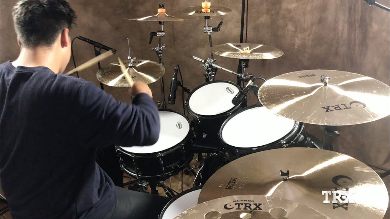 TRX MDM Series Cymbals – with Adrian Cota