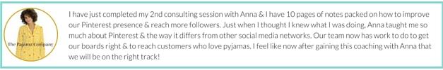 Pinterest Marketing Expert | White Glove Social Media Testimonial-2