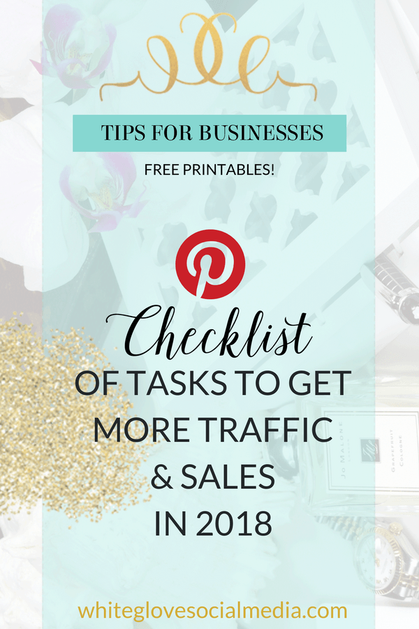 I'm going to help you get through this organizational checklist so that your Pinterest efforts will pay off in 2018. Pinterest can be complex. It's truly a combination of art (your images), science (SEO) & business acumen (creating content your target audience loves). Click now & do each step in the sequence I have laid out. It will save you a ton of headache! #PinterestExpert #PinterestMarketing #PinterestTips #PinterestForBusiness #PinterestForBloggers #PinterestForBeginners