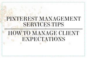Pinterest management services