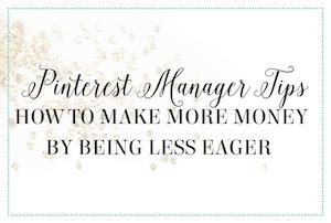 Pinterest manager