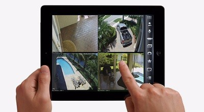 video monitoring from ipad