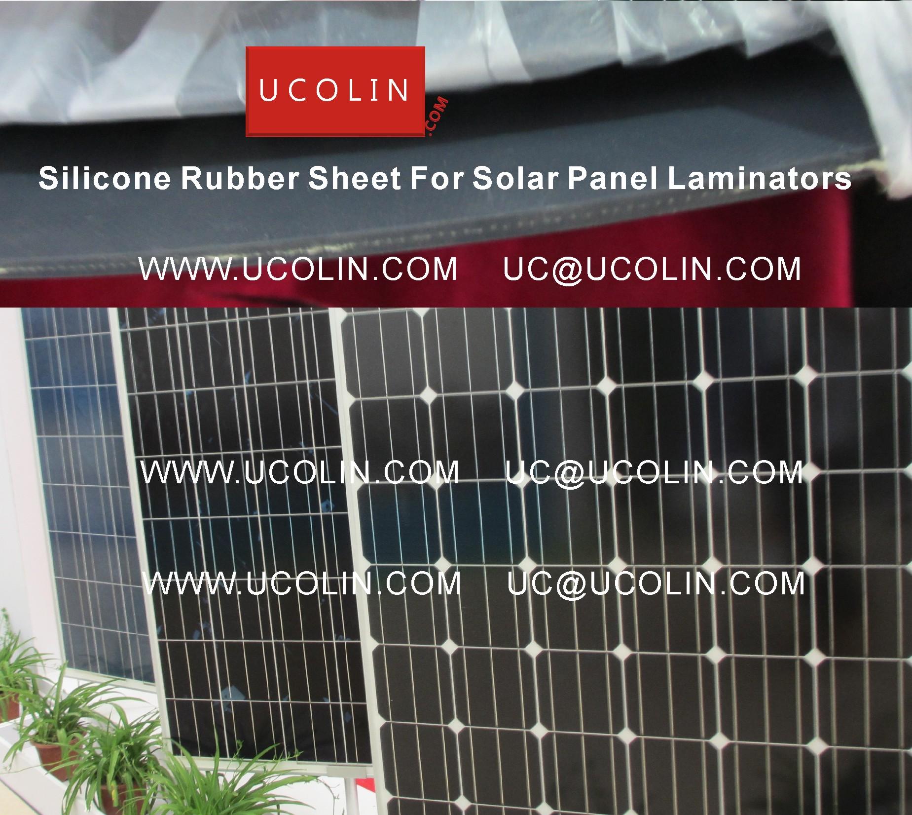 002 Silicon Rubber Sheet For Solar Panel Laminators