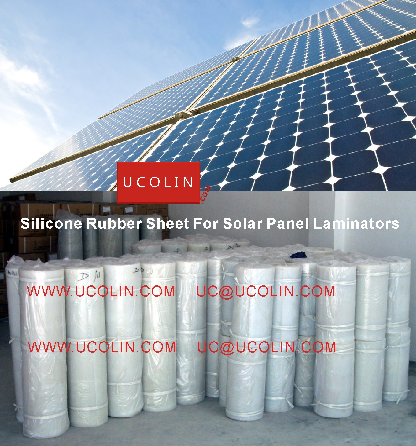 004 Silicon Rubber Sheet For Solar Panel Laminators