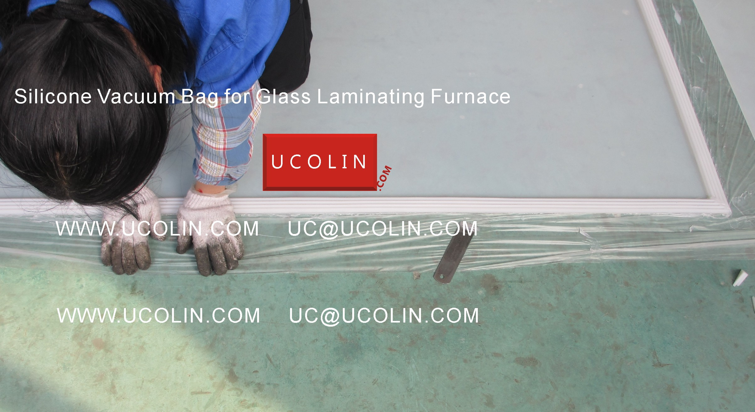 02 Producing of Silicone Vacuum Bag for Glass Laminating Furnace