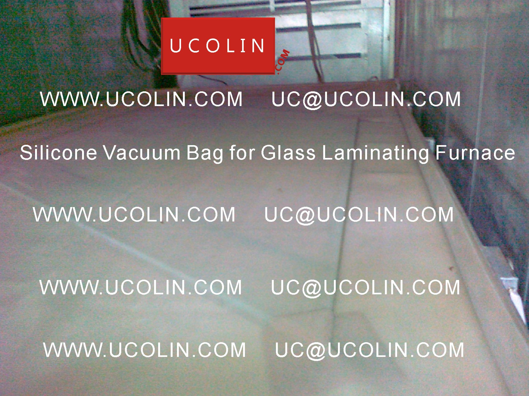 04 Application of Silicone Vacuum Bag for Glass Laminating Furnace