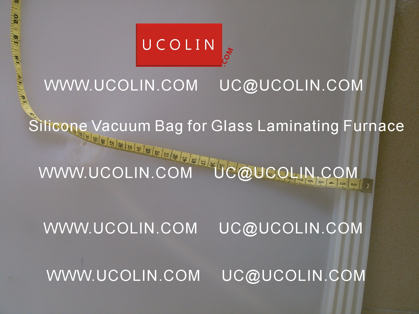 04 Silicone Vacuum Bag for Safety Glass Laminating Furnace