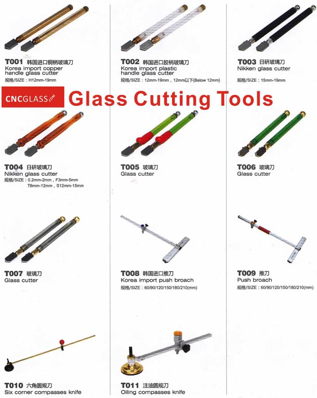 Glass Cutting Tools 1