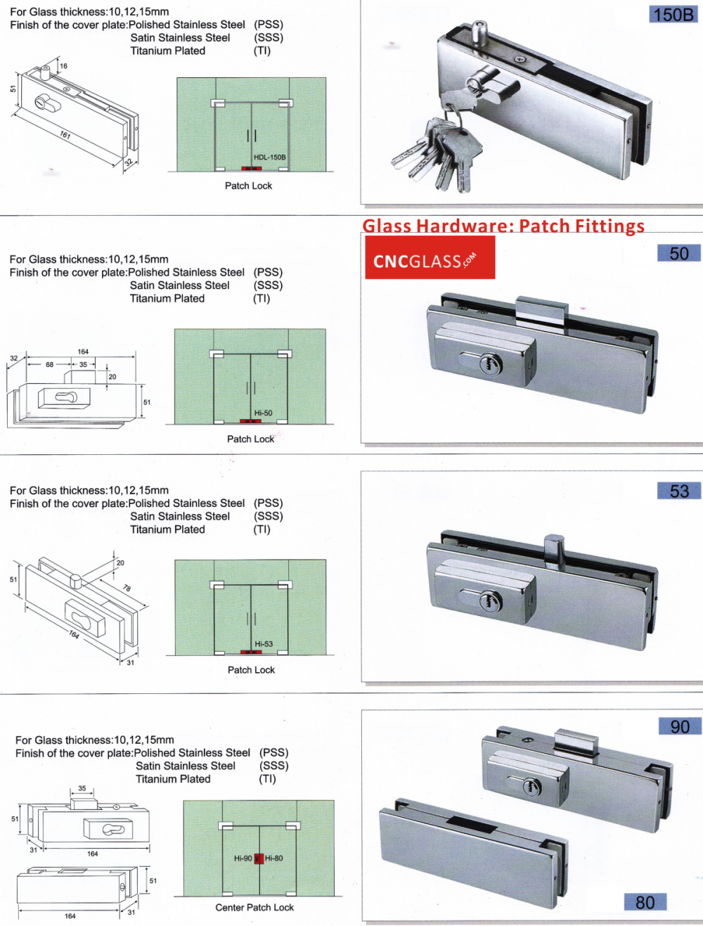 glass hardware patch fitting_conew2