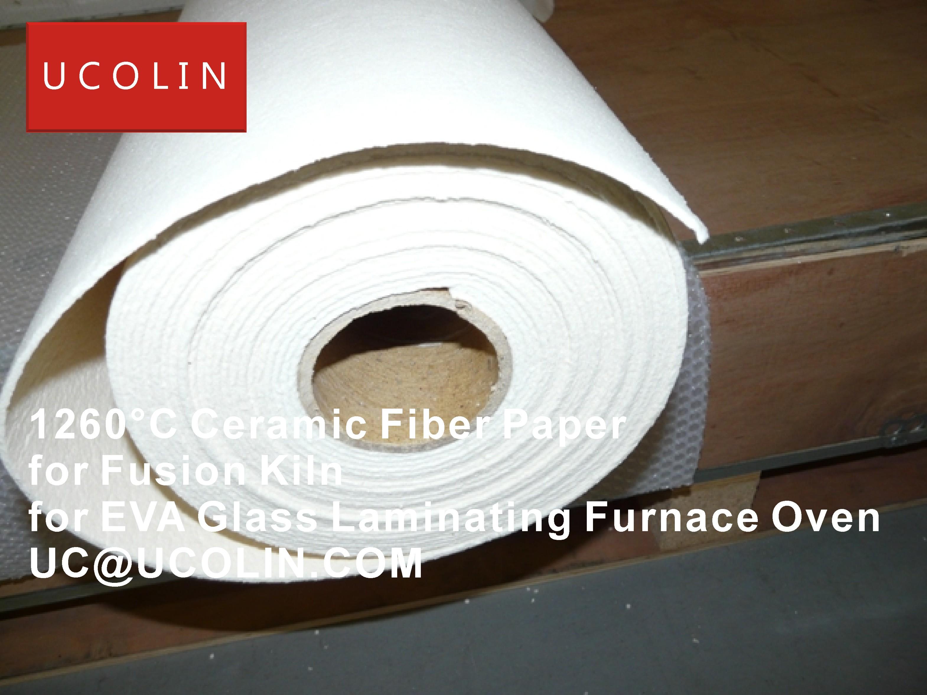 01-1260°C Ceramic Fiber Paper for Fusion Kiln