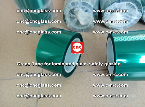 Green Tape for laminated glass safety glazing, EVA FILM, PVB FILM, SGP INTERLAYER (11)