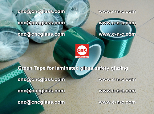 Green Tape for laminated glass safety glazing, EVA FILM, PVB FILM, SGP INTERLAYER (13)