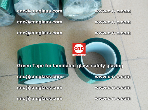 Green Tape for laminated glass safety glazing, EVA FILM, PVB FILM, SGP INTERLAYER (15)