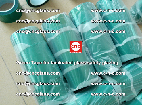 Green Tape for laminated glass safety glazing, EVA FILM, PVB FILM, SGP INTERLAYER (21)