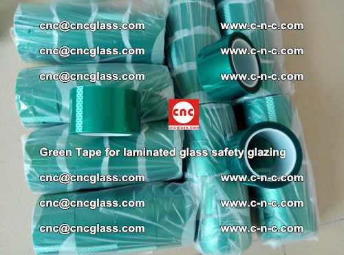 Green Tape for laminated glass safety glazing, EVA FILM, PVB FILM, SGP INTERLAYER (30)