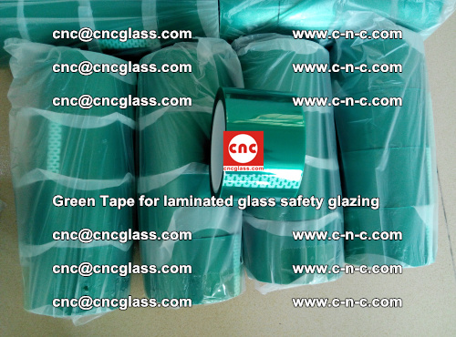 Green Tape for laminated glass safety glazing, EVA FILM, PVB FILM, SGP INTERLAYER (33)