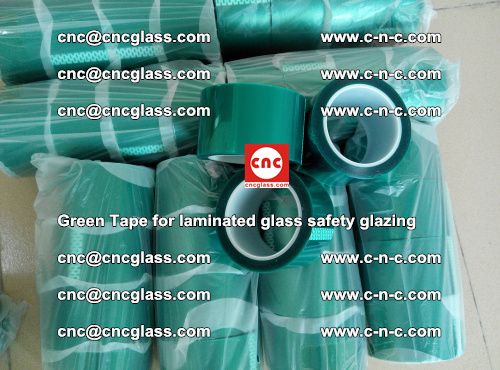 Green Tape for laminated glass safety glazing, EVA FILM, PVB FILM, SGP INTERLAYER (36)