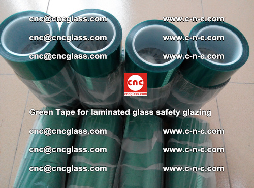Green Tape for laminated glass safety glazing, EVA FILM, PVB FILM, SGP INTERLAYER (47)