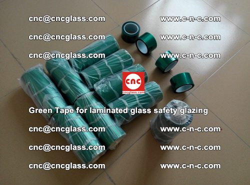 Green Tape for laminated glass safety glazing, EVA FILM, PVB FILM, SGP INTERLAYER (5)