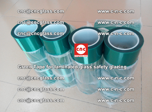 Green Tape for laminated glass safety glazing, EVA FILM, PVB FILM, SGP INTERLAYER (54)