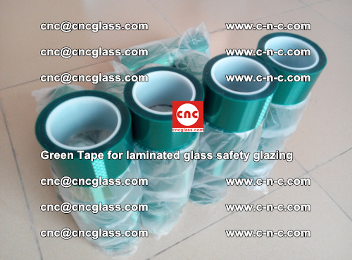 Green Tape for laminated glass safety glazing, EVA FILM, PVB FILM, SGP INTERLAYER (55)