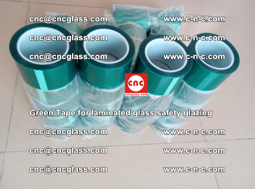 Green Tape for laminated glass safety glazing, EVA FILM, PVB FILM, SGP INTERLAYER (57)