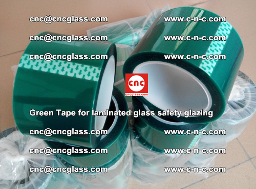 Green Tape for laminated glass safety glazing, EVA FILM, PVB FILM, SGP INTERLAYER (63)