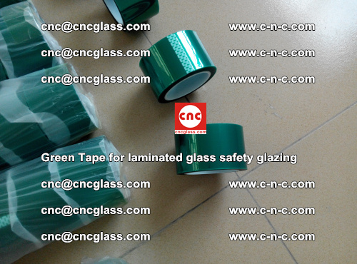Green Tape for laminated glass safety glazing, EVA FILM, PVB FILM, SGP INTERLAYER (7)