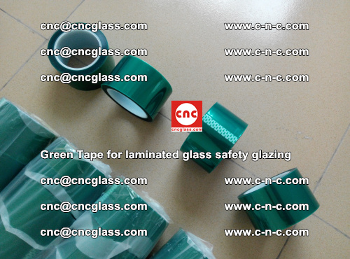 Green Tape for laminated glass safety glazing, EVA FILM, PVB FILM, SGP INTERLAYER (8)