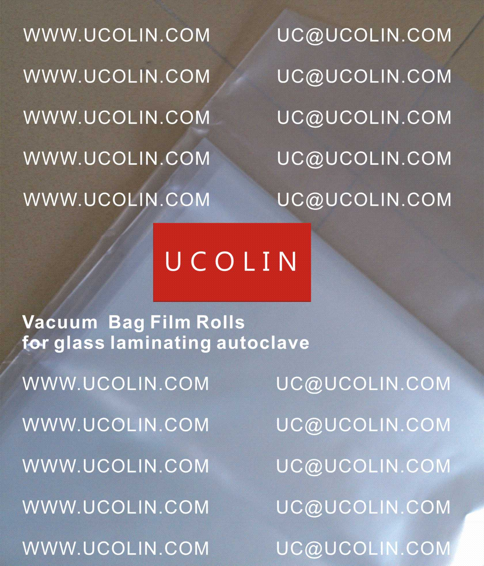 007 Vacuum Bag Film Rolls for Laminating Curved Glass in Autoclave