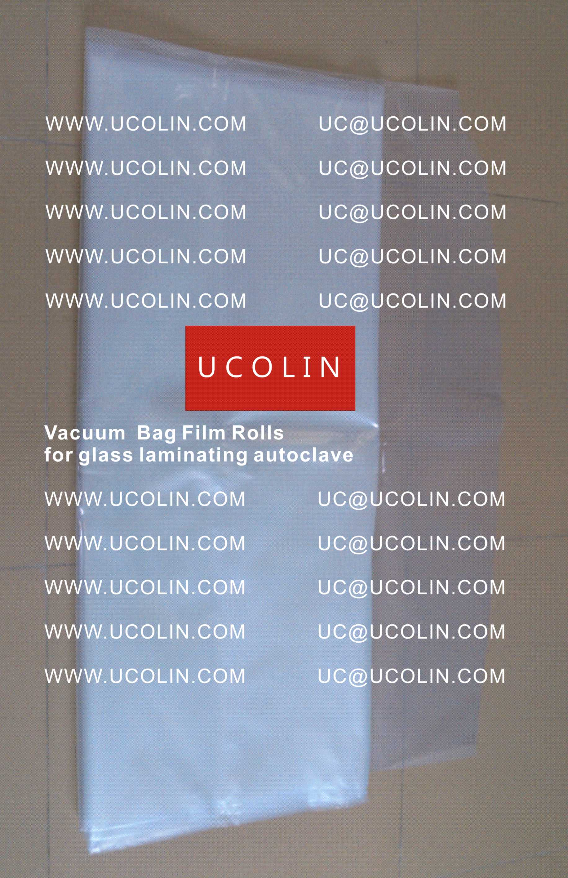 009 Vacuum Bag Film Rolls for Laminating Curved Glass in Autoclave