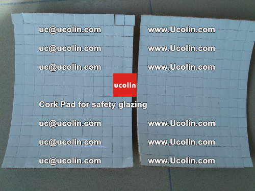 Cork Pad for glass, safety glazing (3)