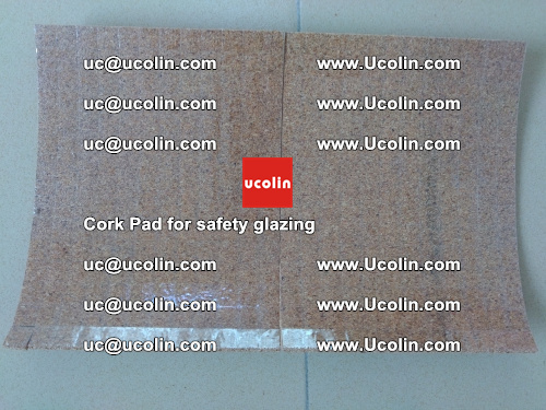 Cork Pad for glass, safety glazing (9)